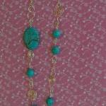 Turquoise Gemstones Neckla..